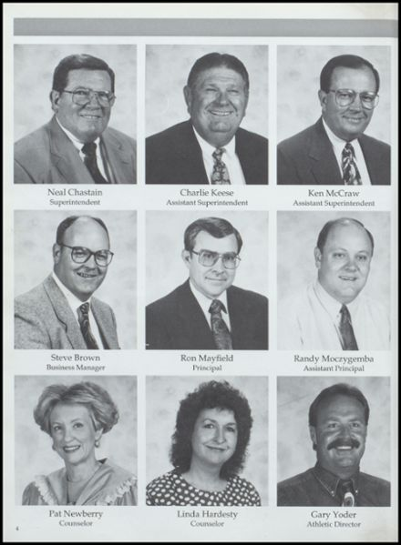 1993 Lamesa High School Yearbook Page 8