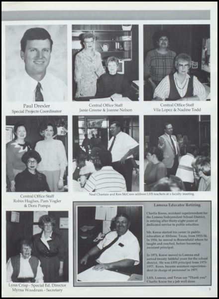 1993 Lamesa High School Yearbook Page 9