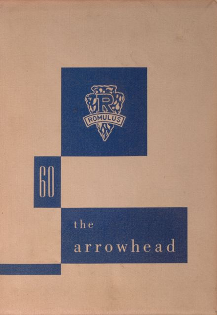 1960 Romulus Central High School Yearbook Cover