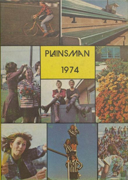 1974 Plainfield High School Yearbook Cover