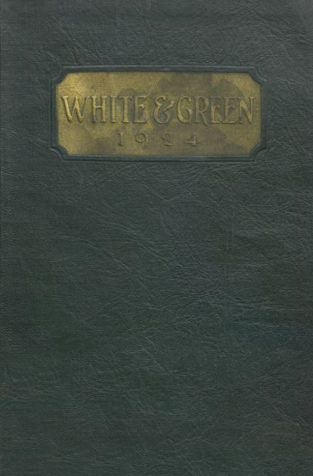 1924 Provo High School Yearbook Cover