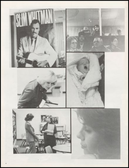 1982 Claremore High School Yearbook Page 8