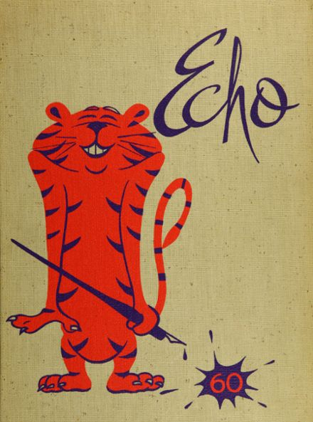 1960 Edmonds High School Yearbook Cover