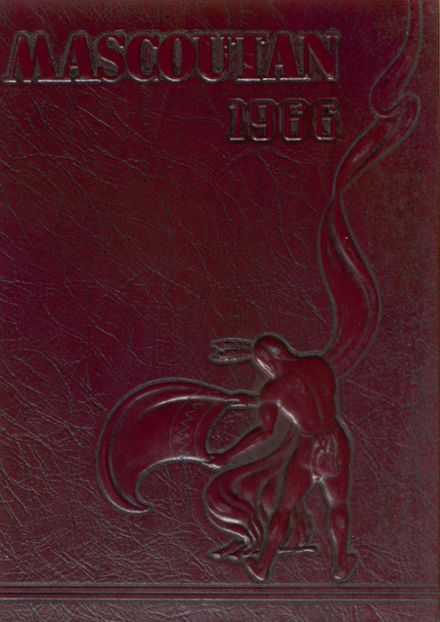 1966 Mascoutah High School Yearbook Cover