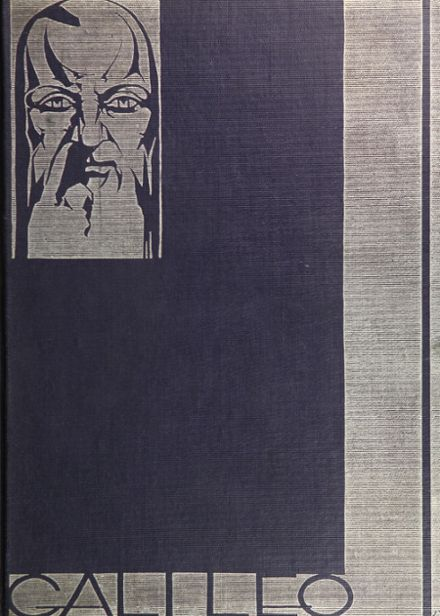 1930 Galileo High School Yearbook Cover