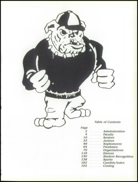 1988 West Allis Central School Yearbook Page 5