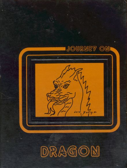 1980 Dallas High School Yearbook Cover