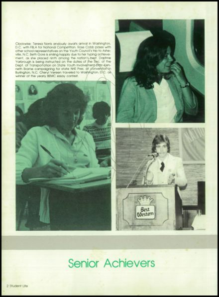 1981 West Brunswick High School Yearbook Page 6
