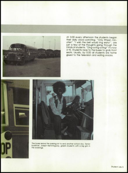 1981 West Brunswick High School Yearbook Page 9
