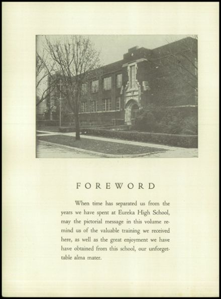 1952 Eureka High School Yearbook Page 8