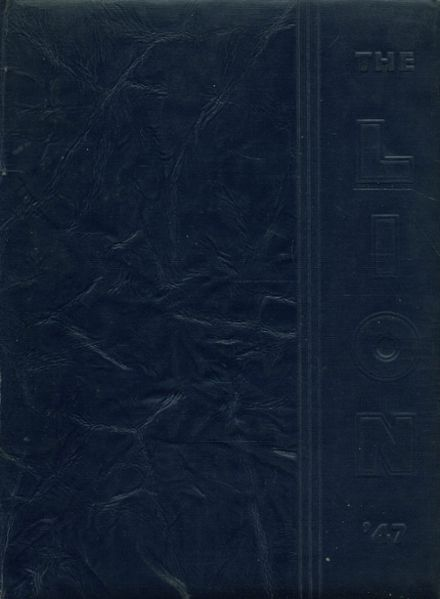 1947 Red Lion Area High School Yearbook Cover