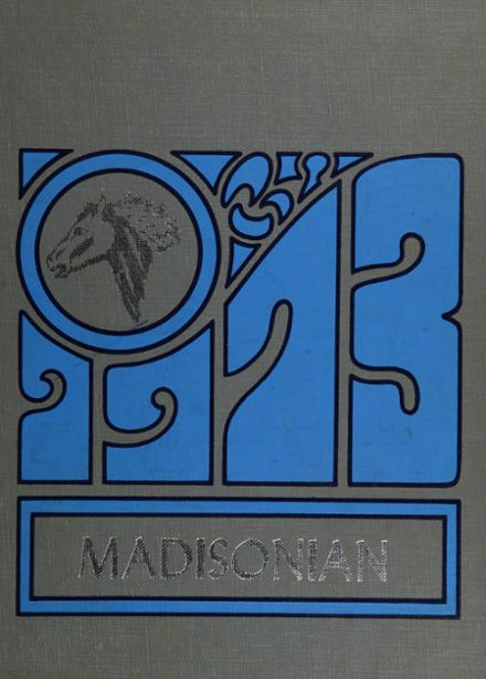 1973 Groveport Madison High School Yearbook Cover