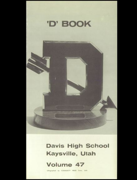 1961 Davis High School Yearbook Page 5