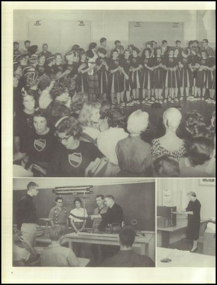 1961 Davis High School Yearbook Page 8