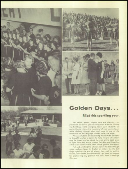 1961 Davis High School Yearbook Page 9