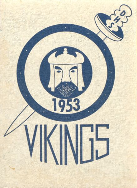 1953 Dundee High School Yearbook Cover