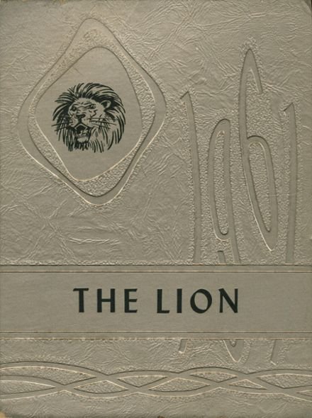 1961 Booker T. Washington High School Yearbook Cover