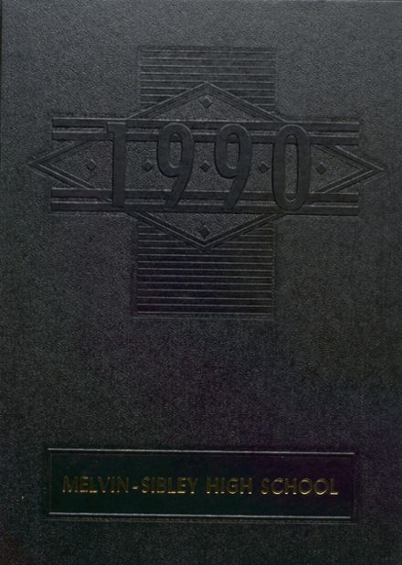 1990 Melvin-Sibley High School Yearbook Cover