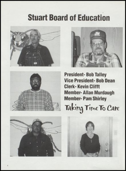 2000 Stuart High School Yearbook Page 8