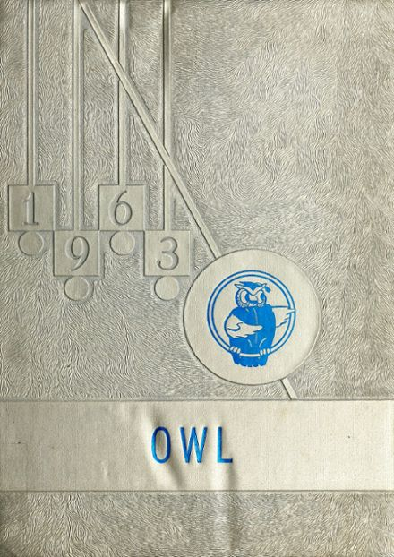 1963 Reagan County High School Yearbook Cover