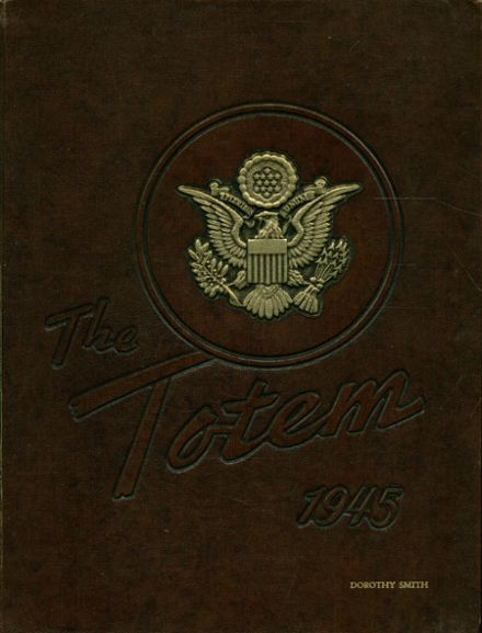1945 South Side High School Yearbook Cover
