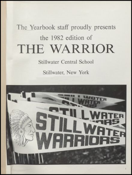 1982 Stillwater High School Yearbook Page 5