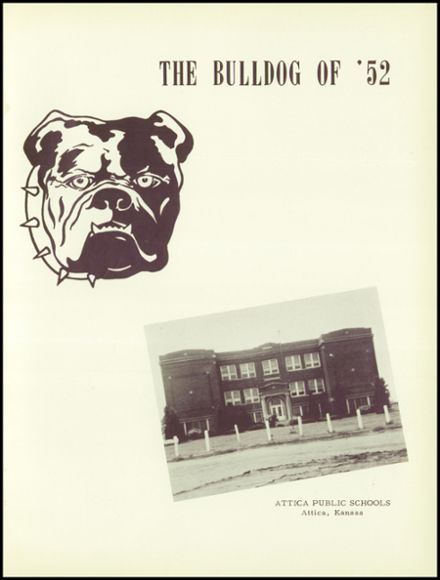 1952 Attica High School Yearbook Page 5