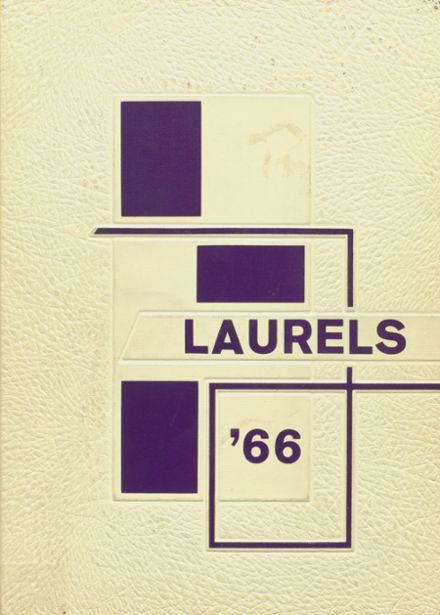 1966 Laurel High School Yearbook Cover
