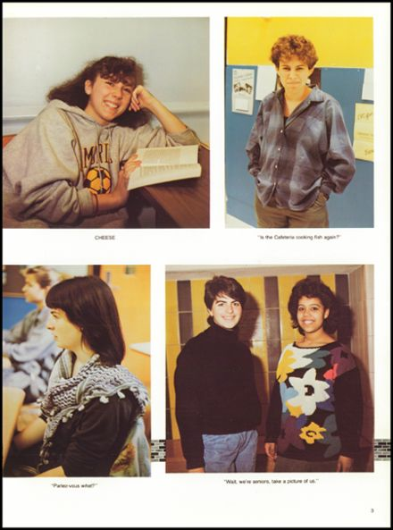 1987 Cambridge Rindge & Latin High School Yearbook Page 7