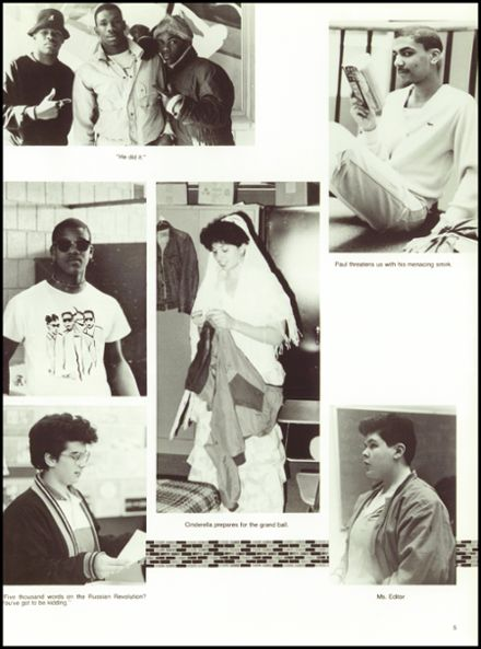 1987 Cambridge Rindge & Latin High School Yearbook Page 9