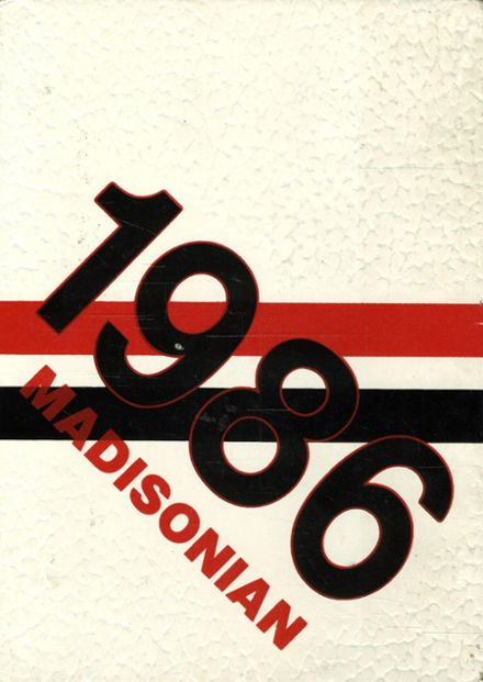 1986 Groveport Madison High School Yearbook Cover