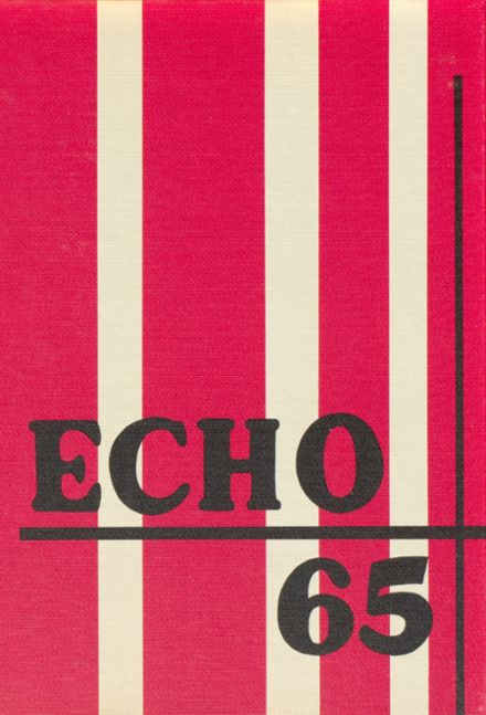 1965 Forestville Central High School Yearbook Cover