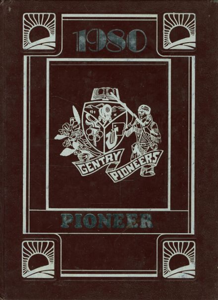 1980 Gentry High School Yearbook Cover