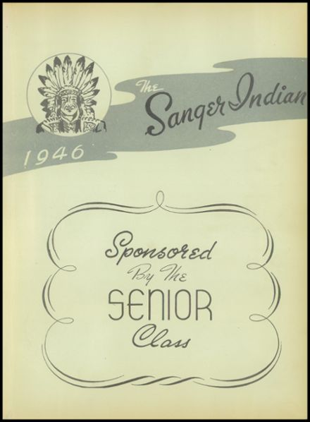 1946 Sanger High School Yearbook Page 7