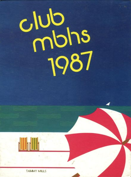1987 Morro Bay High School Yearbook Cover