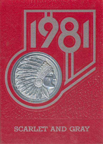 1981 Hopewell-Loudon High School Yearbook Cover