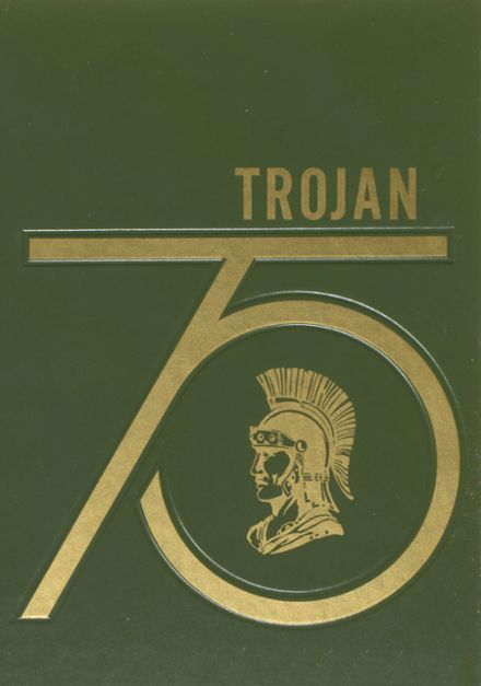 1975 Hampshire High School Yearbook Cover