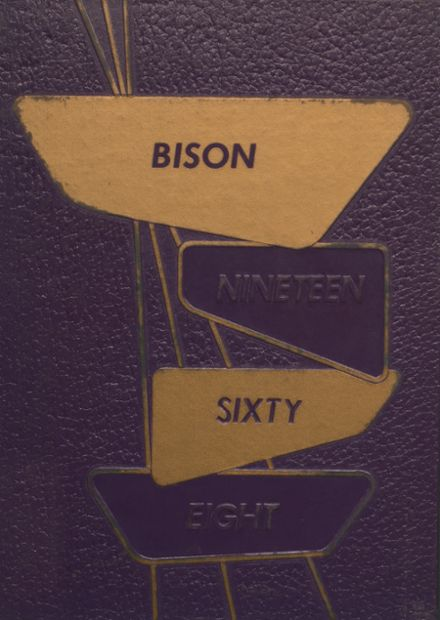 1968 Cross Plains High School Yearbook Cover