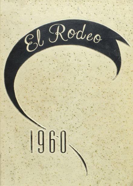 1960 Big Spring High School Yearbook Cover