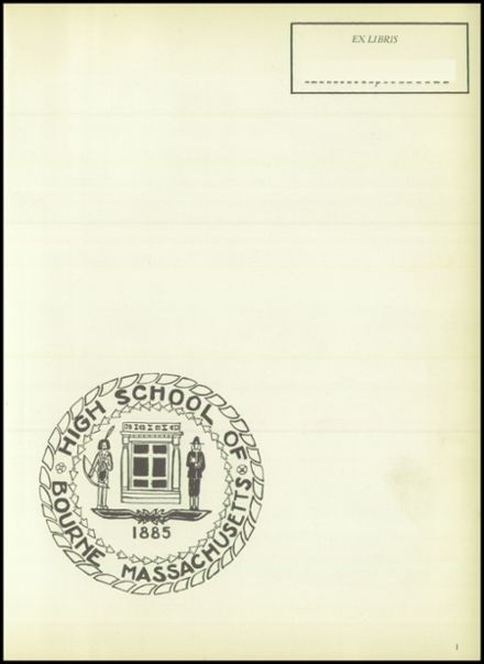 1954 Bourne High School Yearbook Page 5