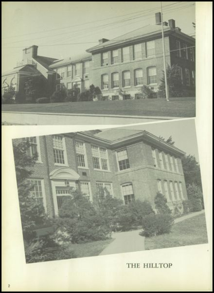 1954 Bourne High School Yearbook Page 6