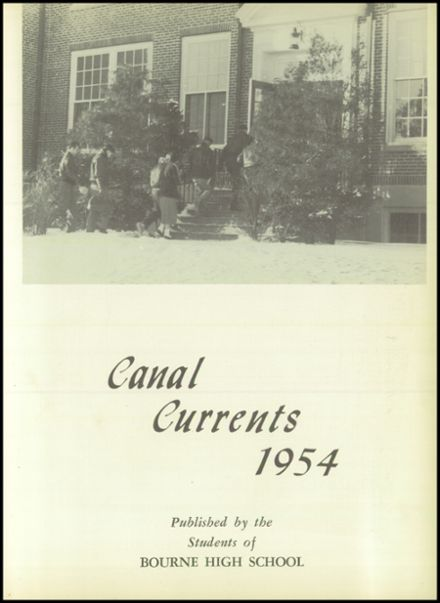 1954 Bourne High School Yearbook Page 7