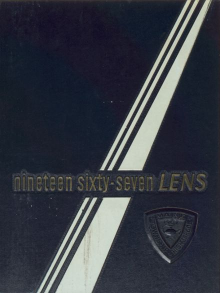 1967 Maine Township High School Yearbook Cover