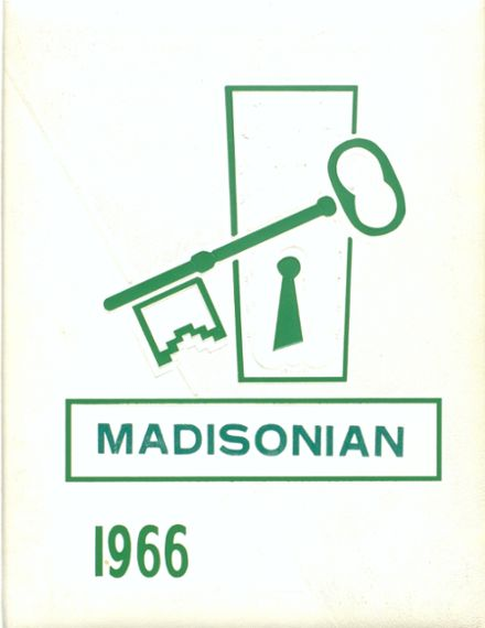 1966 Madison High School Yearbook Cover