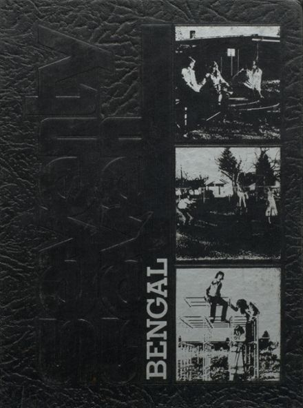 1977 Battle Ground High School Yearbook Cover