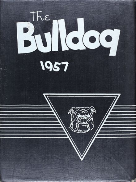1957 Bailey High School Yearbook Cover