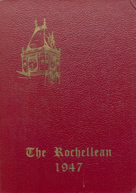 1947 New Rochelle High School Yearbook Cover