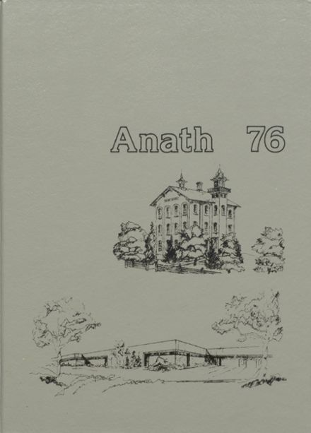 1976 Tecumseh High School Yearbook Cover