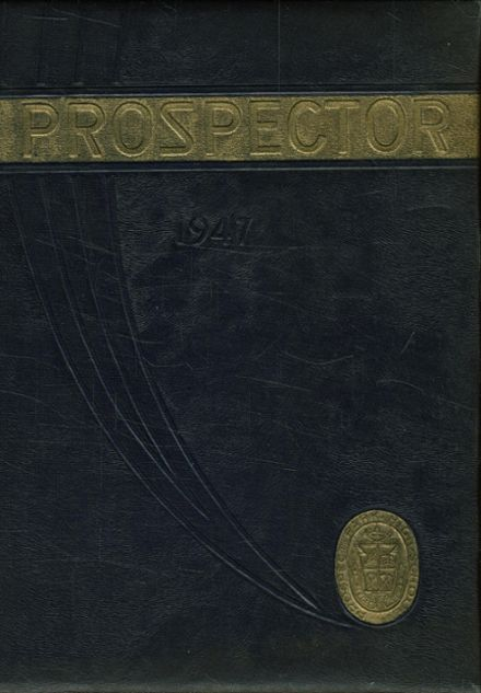 1947 Prospect Park High School Yearbook Cover