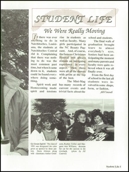 Explore 1990 Natchitoches Central High School Yearbook Natchitoches